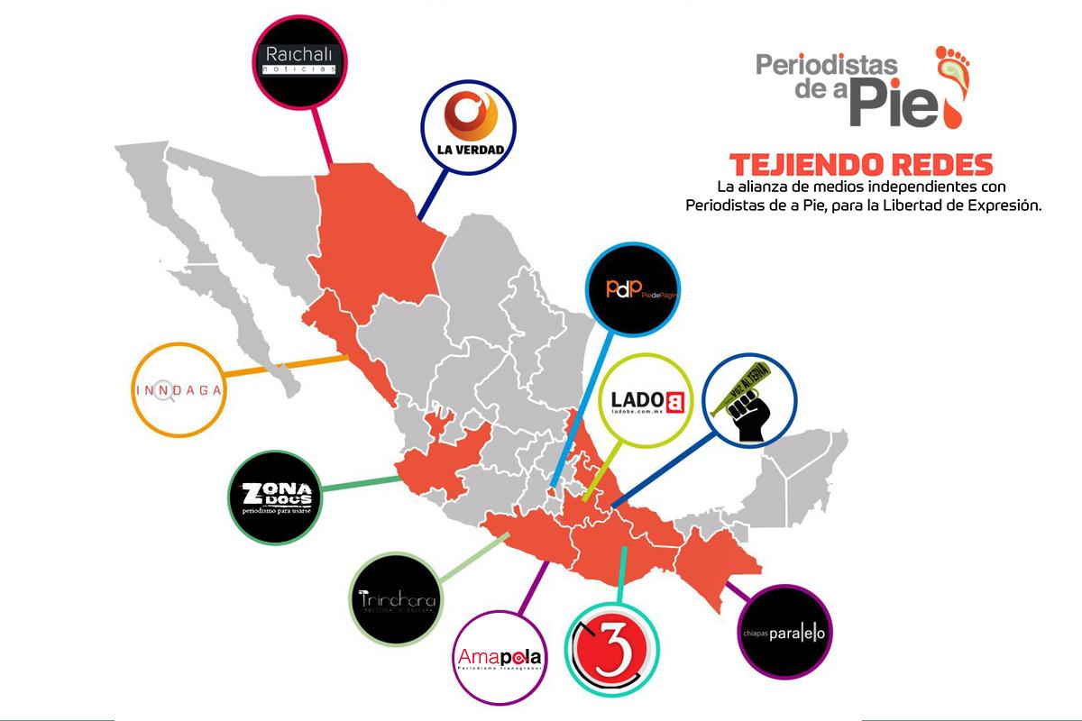 La alianza de medios Tejiendo Redes, cumple un año impulsando una alternativa informativa
