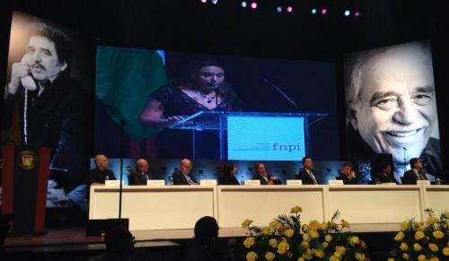 Discurso de Marcela Turati al recibir el reconocimiento a la Excelencia Periodística del Premio Gabriel García Márquez