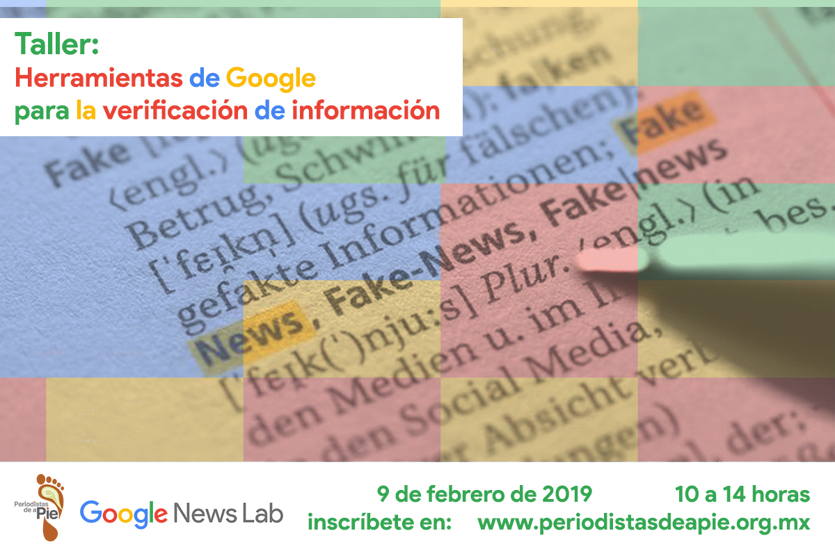 Taller: Herramientas de Google para la verificación de información