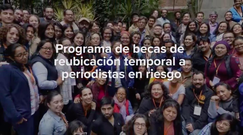 Programa de reubicación para periodistas