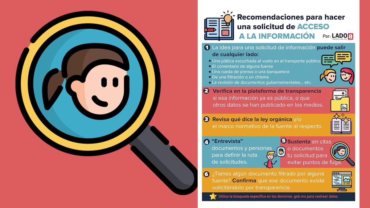 Recomendaciones para realizar una solicitud de acceso a la información
