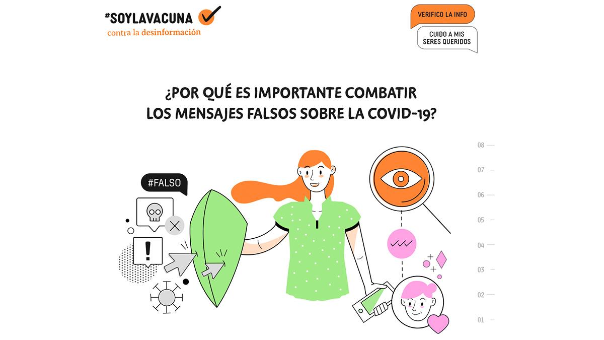 #SoyLaVacuna contra la desinformación